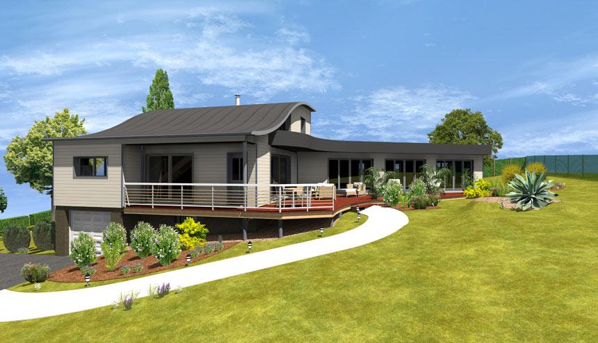 Logiciel de cao 2d 3d de construction en bois a doc for Projet 3d maison