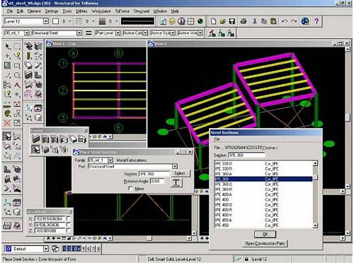 Logiciel De Cao 2d 3d De Construction Bentley Systems France Aecosim Building Designer