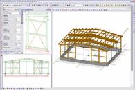 logiciel de cao 2d 3d de construction en bois bocad service international s a bocad 3d bois. Black Bedroom Furniture Sets. Home Design Ideas