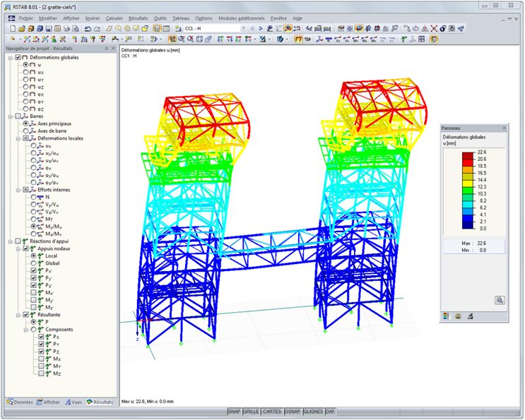 logiciel de calcul de structure dlubal software rstab. Black Bedroom Furniture Sets. Home Design Ideas