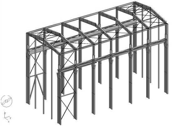 logiciel de calcul de structure m tallique icab icab cm. Black Bedroom Furniture Sets. Home Design Ideas