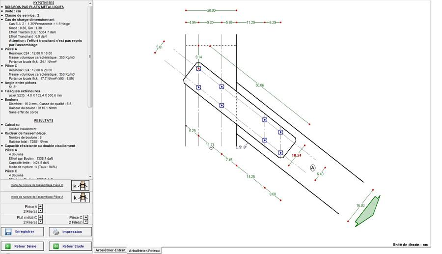 logiciel de calcul de structure bois md bat assembl. Black Bedroom Furniture Sets. Home Design Ideas