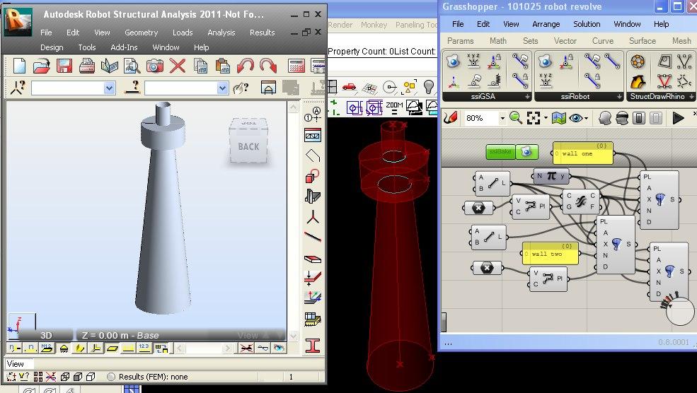 Connecteur de logiciel de calcul et de cao rhinoforyou for Architecture parametrique