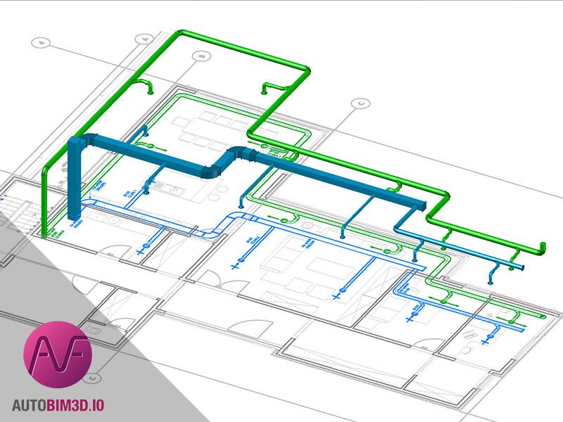 logiciel mep cvc traceocad autobim3d xport. Black Bedroom Furniture Sets. Home Design Ideas