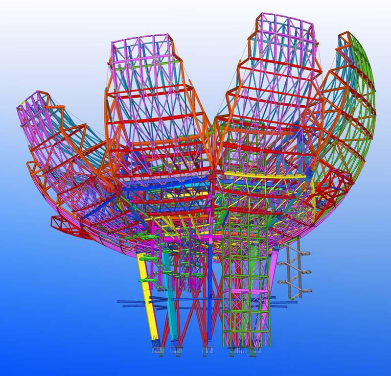 logiciel de cao 2d 3d de construction trimble solutions tekla structures ing nierie. Black Bedroom Furniture Sets. Home Design Ideas