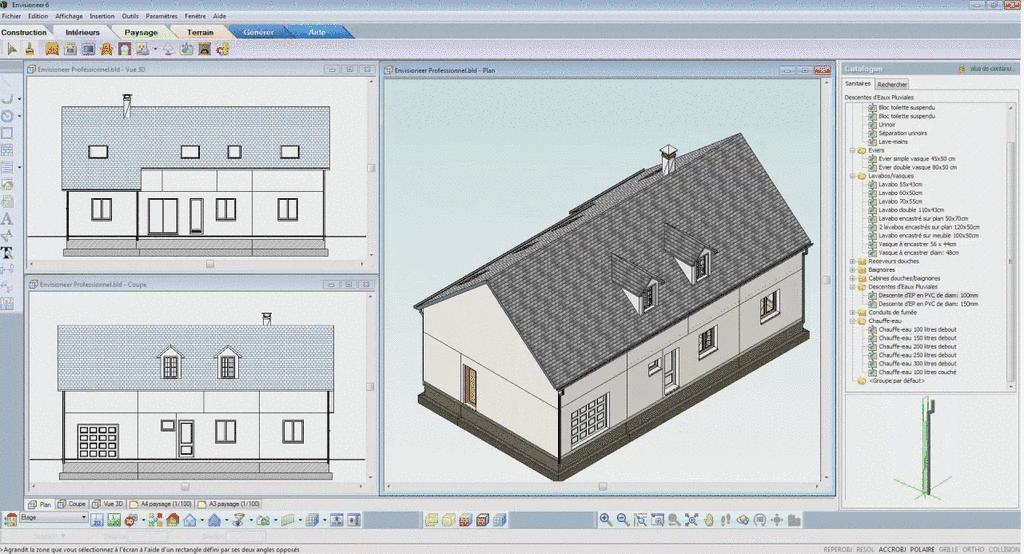 Tutoriel envisioneer architecture a doc concevoir for Comparatif logiciel architecture