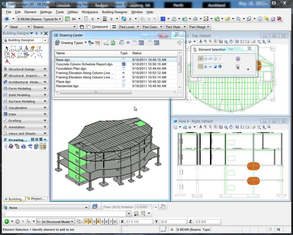Logiciel De Cao 2d 3d De Construction Bentley Systems